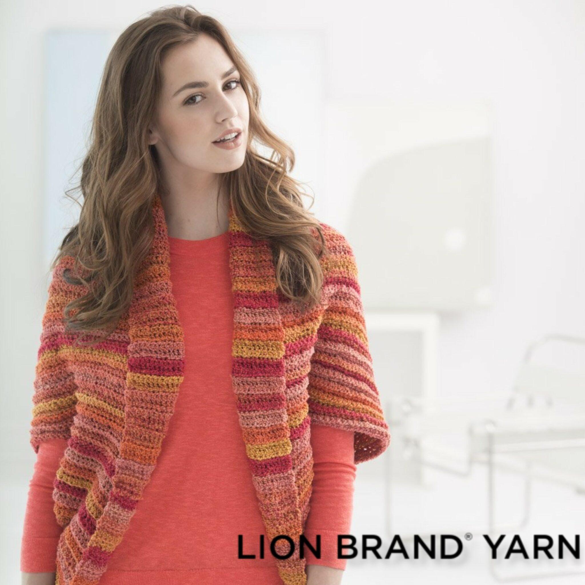 Bolero a Crochet Love -Patrón Crochet-