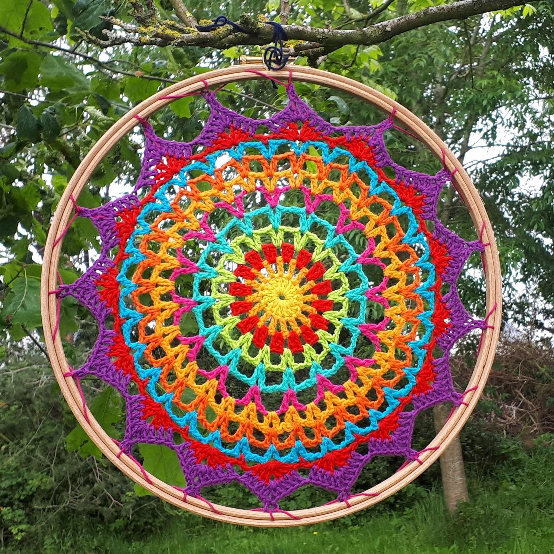Crochet Mandala de verano by Annie Designe Crochet